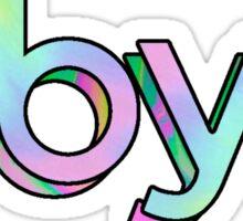 BBYO 3d Sticker