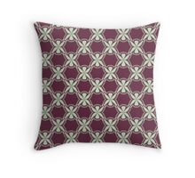 Background to a fine pattern Throw Pillow