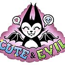 Cute and Evil -pink by blacklilypie