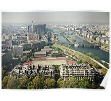 Europe: Paris, Eiffel Tower Views Poster