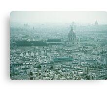 Europe: Paris, Eiffel Tower Views #2 Canvas Print