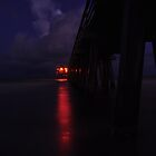 Naples Pier Before Dawn, As Is by Kim McClain Gregal