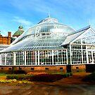 Winter Garden, Glasgow Green by ©The Creative  Minds