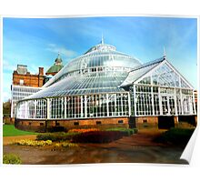 Winter Garden, Glasgow Green Poster