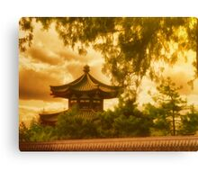Beijing Sunset Canvas Print
