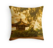 Beijing Sunset Throw Pillow