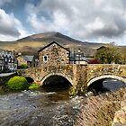 The Bridge at Beddgelert by Irene  Burdell