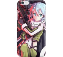 Sinon from GGO iPhone Case/Skin