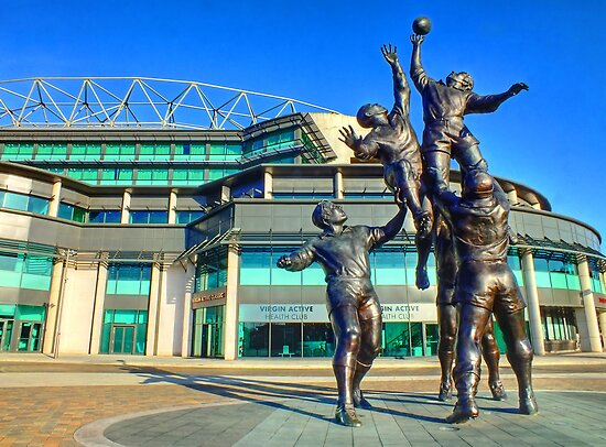 Twickenham Stadium - The Home of English Rugby - HDR by Colin  Williams Photography