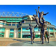 Twickenham Stadium - The Home of English Rugby - HDR Photographic Print