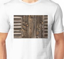 Weathered Wooden Abstracts - 1 Unisex T-Shirt