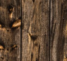 Weathered Wooden Abstracts - 1 Sticker