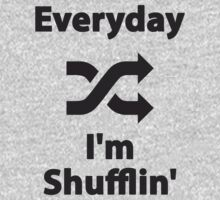 Everyday I'm Shufflin' One Piece - Long Sleeve