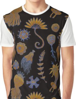 Sea Ballet in Psychedelic Colors, more apologies to Ernst Haeckel Graphic T-Shirt