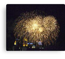 Fireworks-Cincinnati Canvas Print