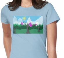 Flying South Womens Fitted T-Shirt
