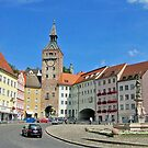 Market Square - Bavarian Small Town by Bine
