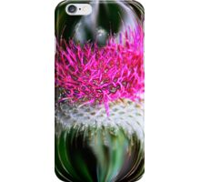 Thistle In Glass  iPhone Case/Skin