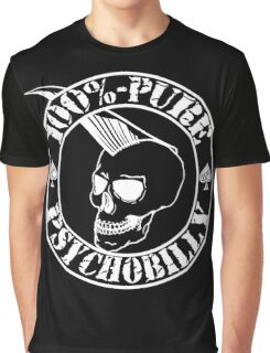 Pure Psychobilly - White Stamp Graphic T-Shirt