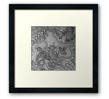 Tara and the Seahorse Framed Print