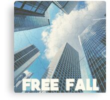 FREE FALL Canvas Print
