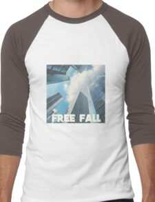 FREE FALL Men's Baseball ¾ T-Shirt
