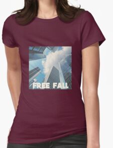 FREE FALL Womens Fitted T-Shirt
