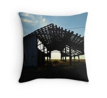 One Good Wind And Its Also Gone Throw Pillow