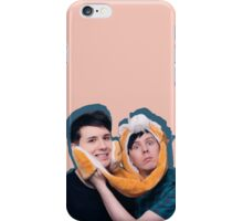Phan pink and blue iPhone Case/Skin