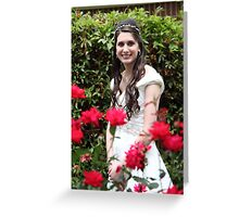 The Rose Bride Greeting Card