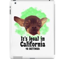 High Beanz iPad Case/Skin
