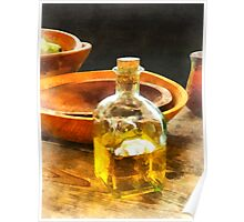 Decanter of Oil Poster