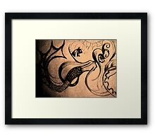 Wandering the Sea Framed Print