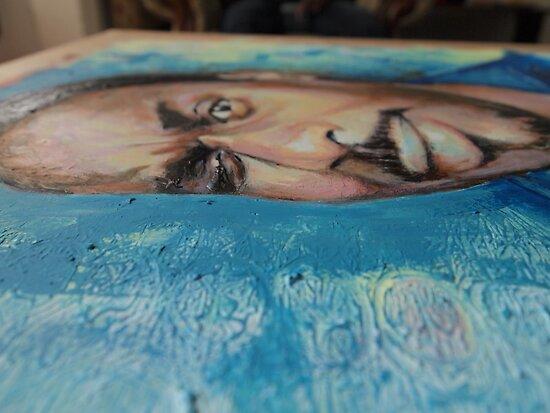 Self Portrait - Detail by Eddy Aigbe