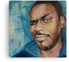 Self-Portrait - Artist In Focus Mode Canvas Print