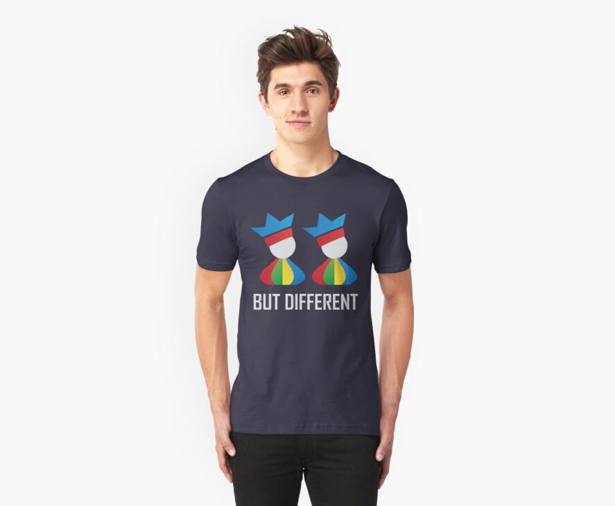 Same Same - But Different (Unisex) by jukselapp