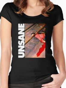 Unsane T-Shirt Women's Fitted Scoop T-Shirt