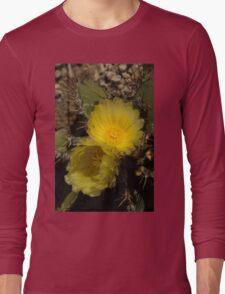 Gossamer Petals - Twin Cactus Blooms Long Sleeve T-Shirt