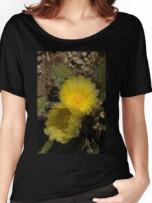 Gossamer Petals - Twin Cactus Blooms Women's Relaxed Fit T-Shirt