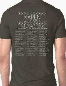 Karen & The Babes World Tour T-Shirt