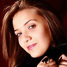 Amber, Portrait of a teen  by thermosoflask