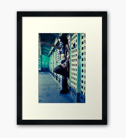 you Framed Print