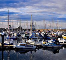 Whitehaven Harbour by Tony Dewey