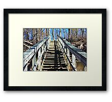This is The Path I choose  Framed Print
