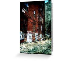 New York City Backyard Greeting Card