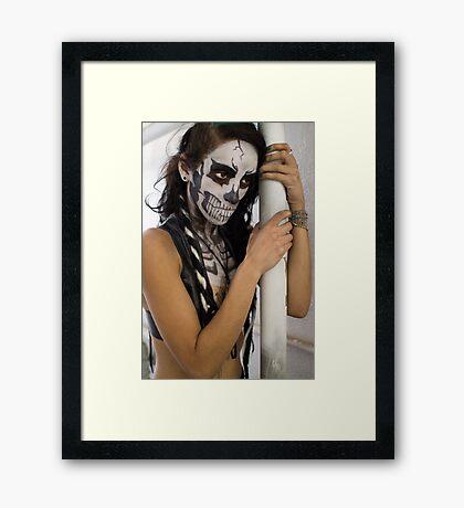 high Framed Print