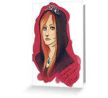 Death Eater Princess Greeting Card