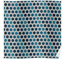 Pattern in circles Poster