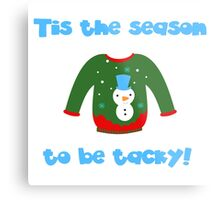 Ugly Sweater Metal Print