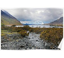 Wast Water Lake District Poster